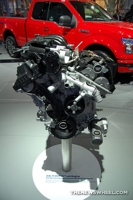 New Ford 3.5-Liter EcoBoost V6 in 2017 F-150 Nets Best-in-Class Torque