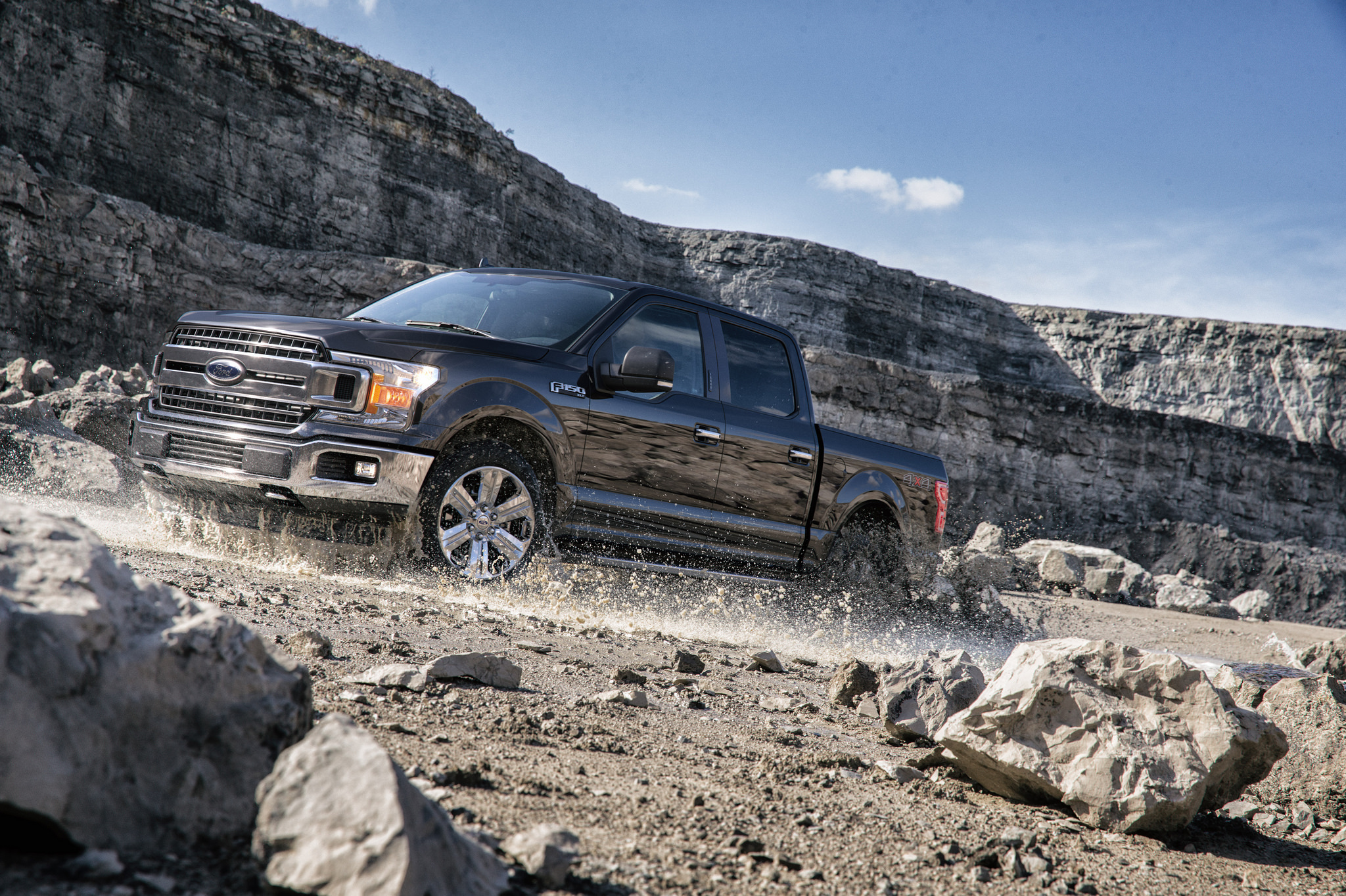 2018 brings the first Ford F-150 Diesel to the lineup.