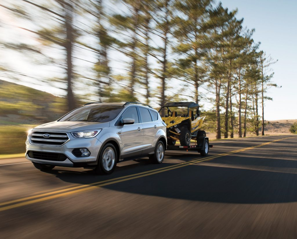 The 2018 Ford Escape, get it now at Sun State Ford in Orlando, Florida