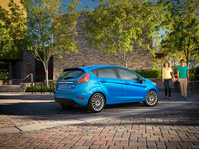Ford Fiesta Named Top Back-to-School Car by KBB.com