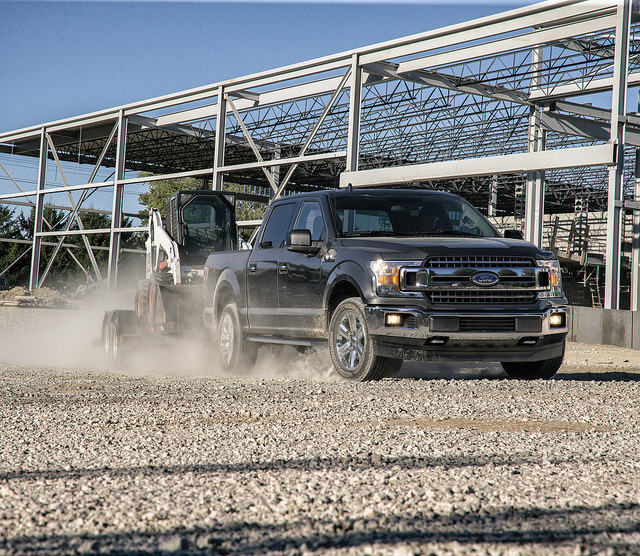 Get your first look at the new 2018 Ford F-150 Diesel at Sun State Ford