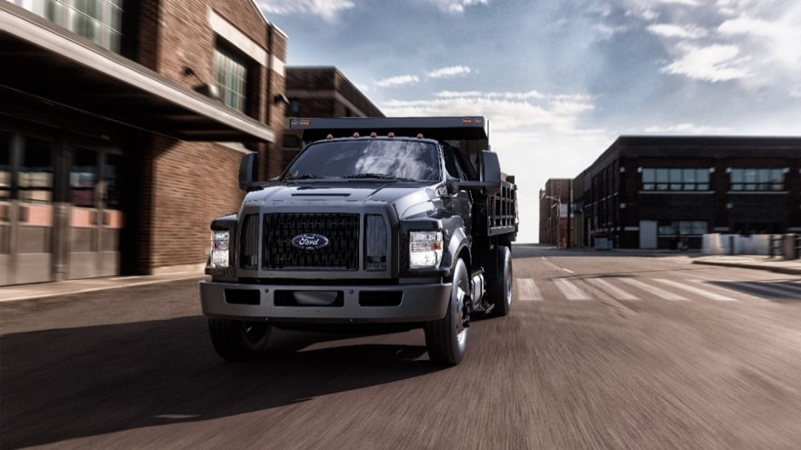2022 Ford F-650 and F-750 Get New V8 Option