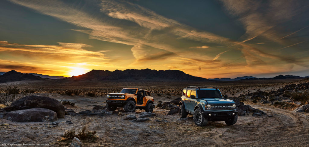 Ford Launches 2021 Bronco Build and Price Tool